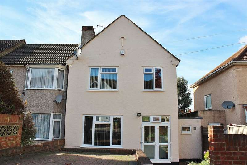 3 Bedrooms End Of Terrace House for sale in Bastion Road, Abbey Wood, London, SE2 0RG