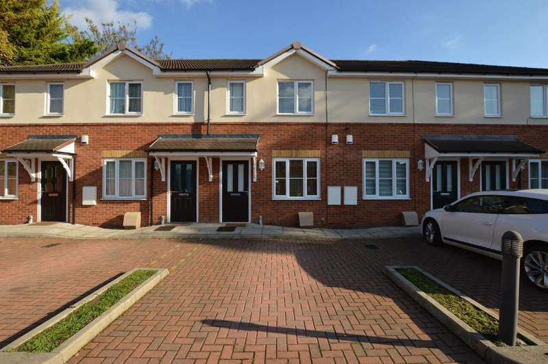 2 Bedrooms Terraced House for sale in Trinity Close, Luton, Beds, LU3 1EB