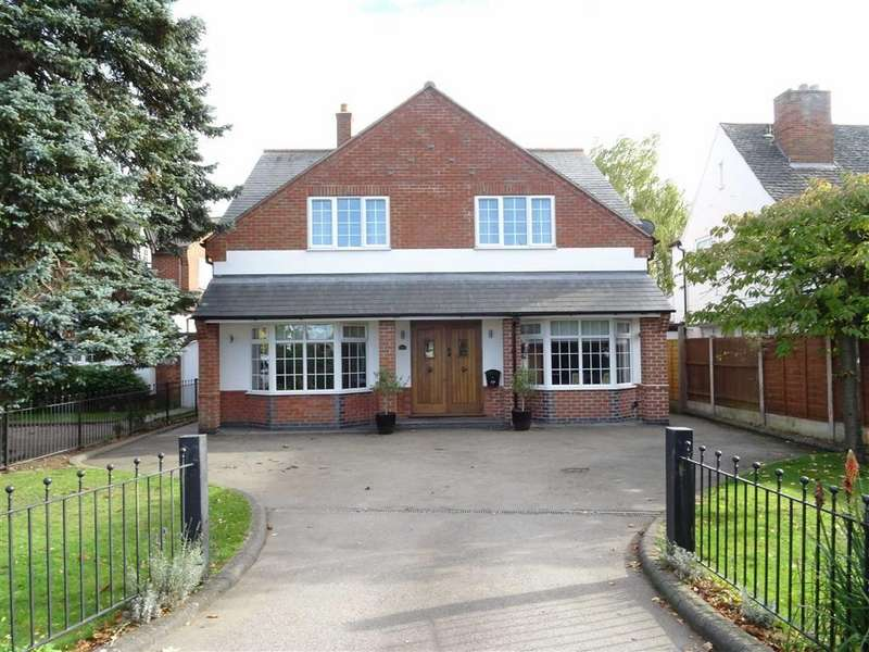 4 Bedrooms Detached House for sale in Hinckley Road, Earl Shilton