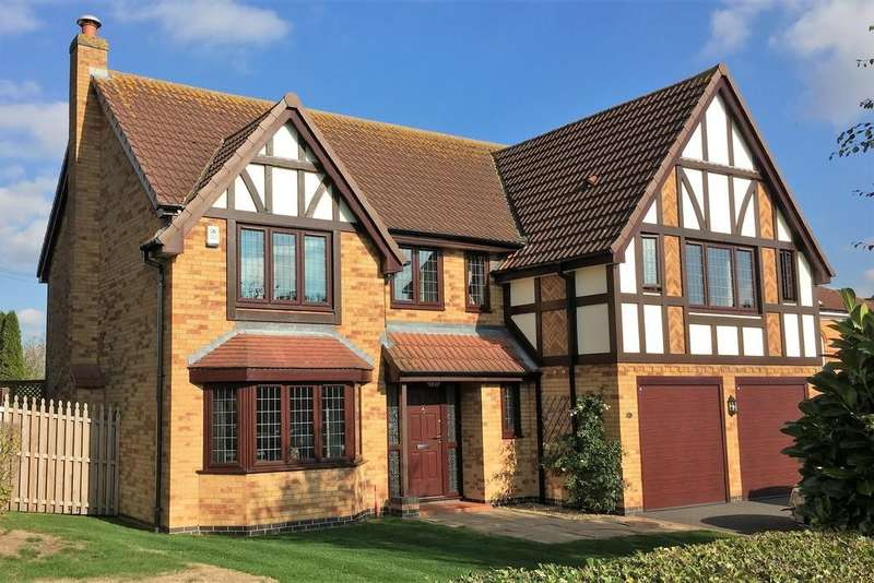 5 Bedrooms Detached House for sale in Carnegie Crescent, Melton Mowbray