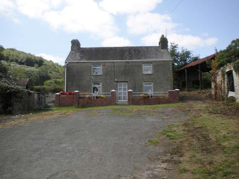 2 Bedrooms Smallholding Commercial for sale in Allt Fawr Farm Llannon, Llanelli, Carmarthenshire. SA14 8JX