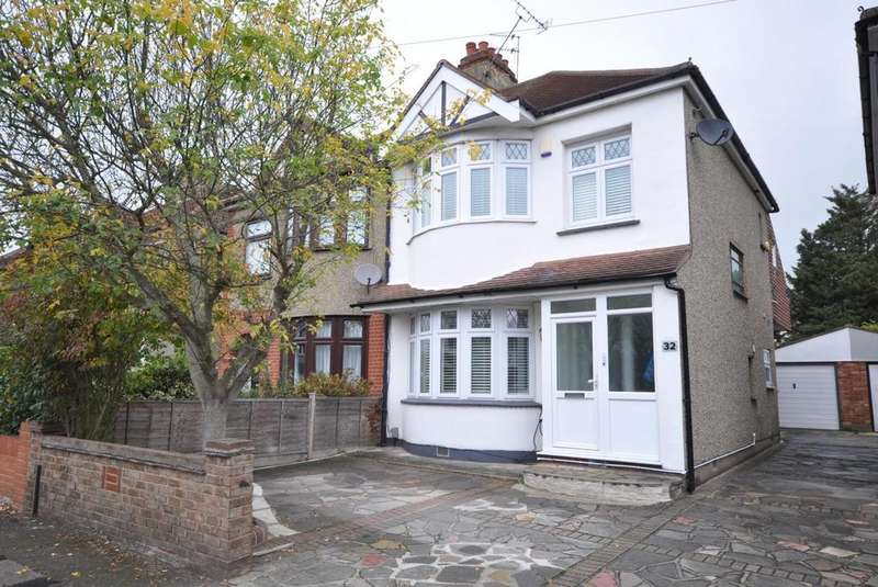 4 Bedrooms Semi Detached House for sale in Winifred Avenue, Hornchurch, Essex, RM12