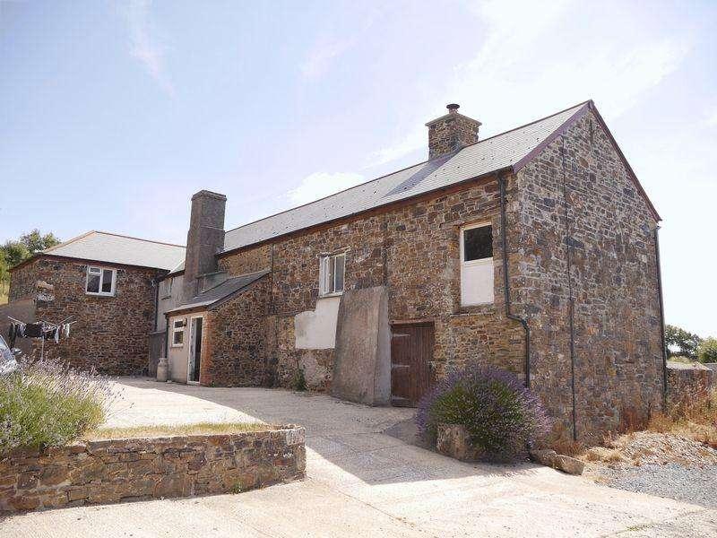 6 Bedrooms Detached House for sale in Broadwoodwidger, Lifton