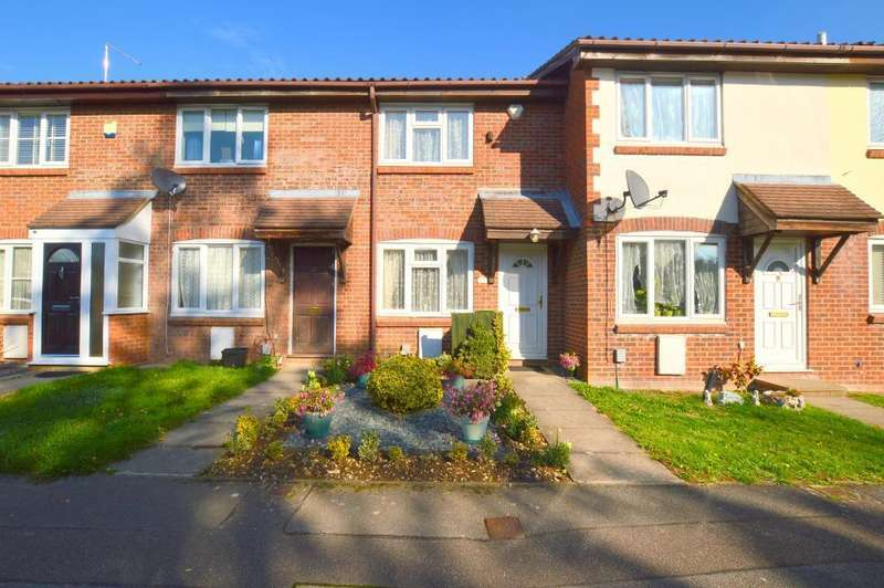 2 Bedrooms Terraced House for sale in Pytchley Close, Bushmead, Luton, LU2 7YS