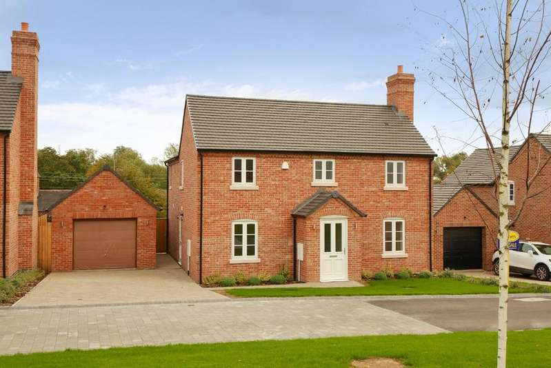 4 Bedrooms Detached House for sale in William Ball Drive, Horsehay, Telford, Shropshire, TF4 2NE