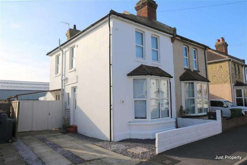 3 Bedrooms Semi Detached House for sale in Bulverhythe Road, St Leonards-on-Sea