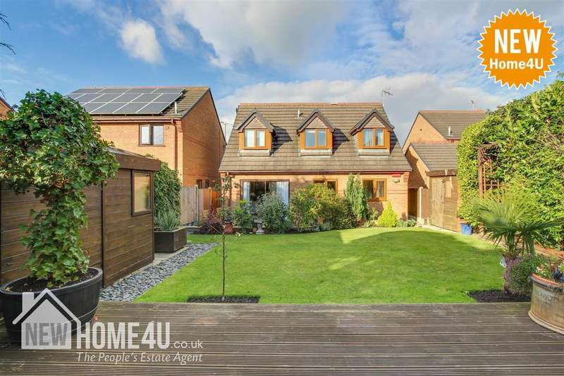 4 Bedrooms Detached House for sale in Brickbarn Close, Buckley