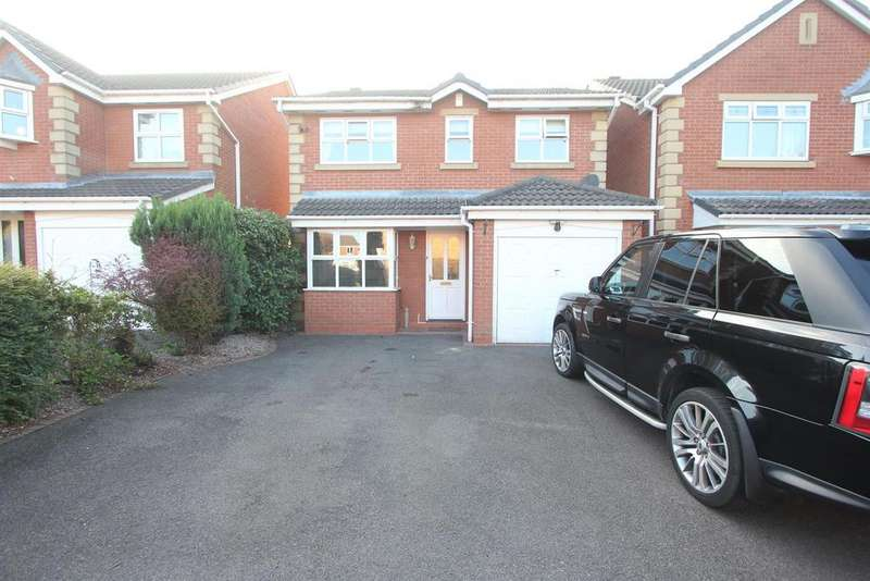 3 Bedrooms Detached House for sale in Robertson Close, Stoney Stanton