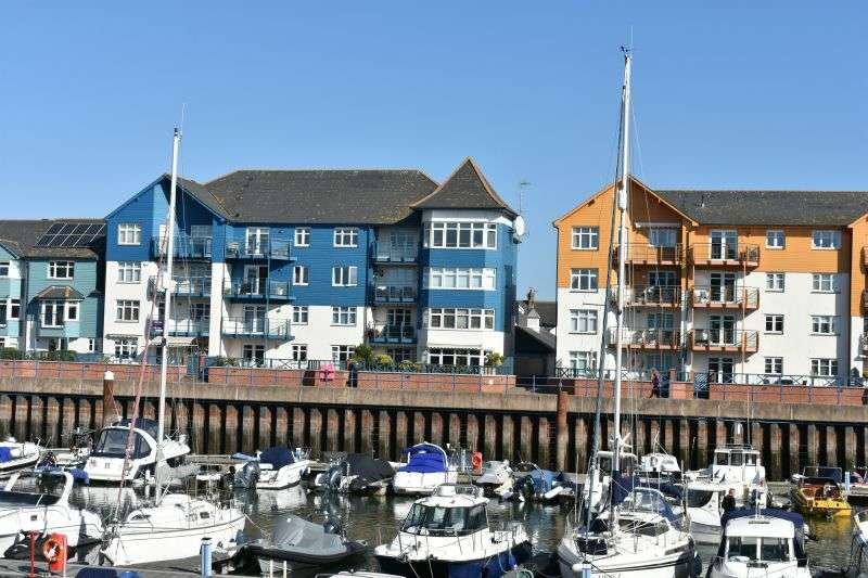 3 Bedrooms Flat for sale in ROPEWALK HOUSE, EXMOUTH MARINA