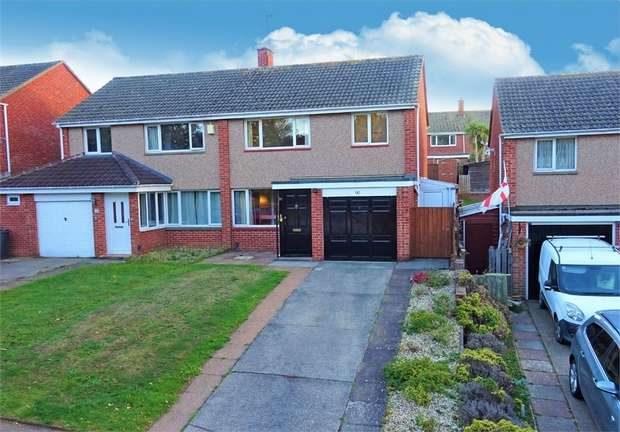 3 Bedrooms Semi Detached House for sale in Quarry Lane, Broadfields, Exeter