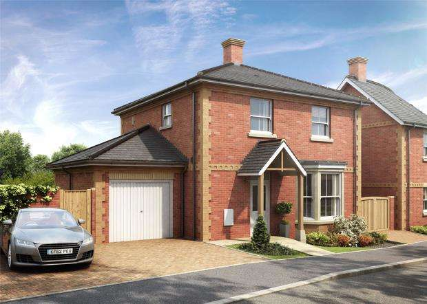 3 Bedrooms Semi Detached House for sale in Valley Park, Flora Close, Exmouth, Devon