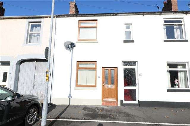 2 Bedrooms Terraced House for sale in Esk Street, Longtown, Carlisle, Cumbria, CA6 5PU