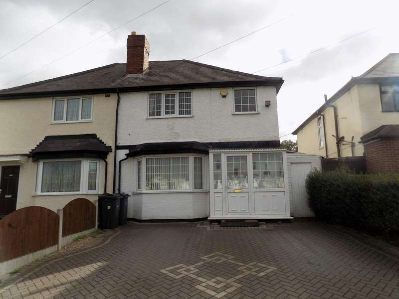 3 Bedrooms Semi Detached House for sale in Aldridge Road, Perry Barr, Birmingham B42