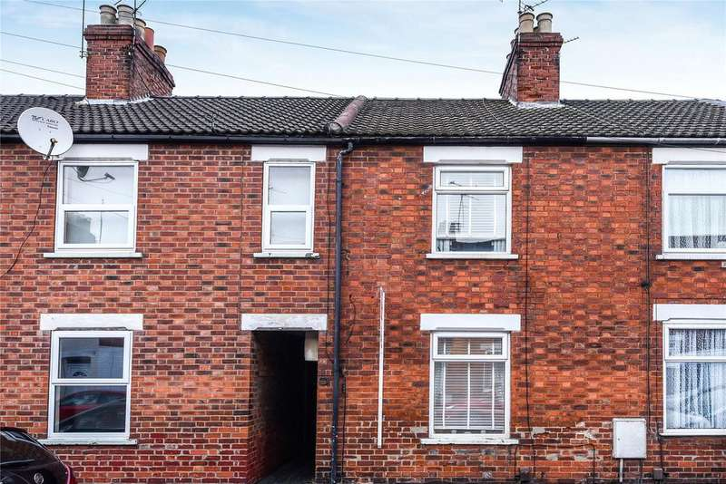3 Bedrooms Terraced House for sale in Alford Street, Grantham, NG31