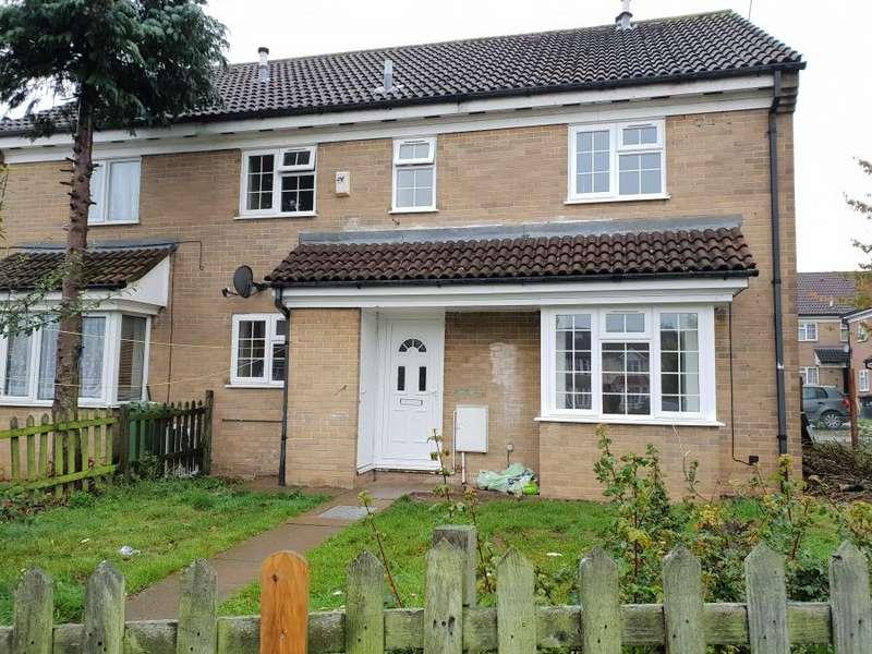2 Bedrooms Semi Detached House for sale in Dorrington Close, LU3