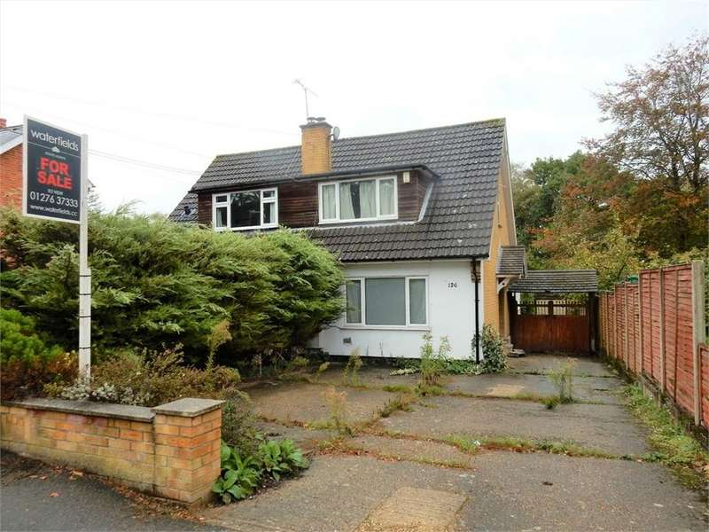 3 Bedrooms Semi Detached House for sale in Owlsmoor Road, Owlsmoor, SANDHURST, Berkshire