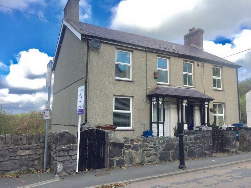 2 Bedrooms Semi Detached House for sale in Tregarth, Bangor, North Wales