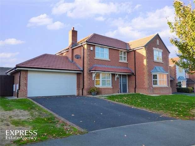 4 Bedrooms Detached House for sale in Little Roodee, Hawarden, Deeside, Flintshire