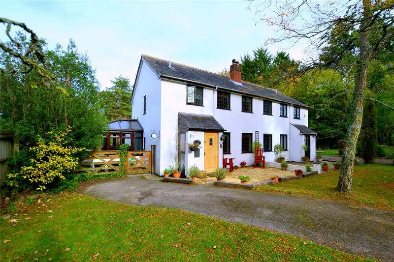 4 Bedrooms Semi Detached House for sale in Station Cottages, Holmsley, Burley, Ringwood, BH24