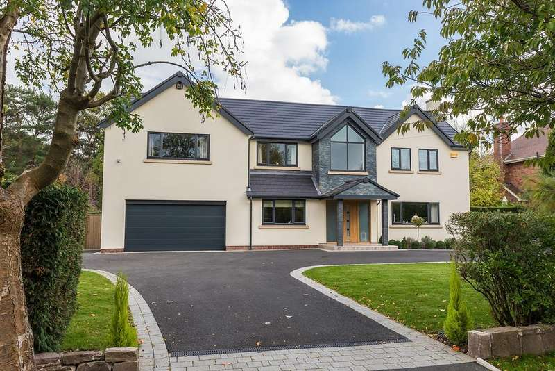 5 Bedrooms Detached House for sale in Pownall Avenue, Bramhall