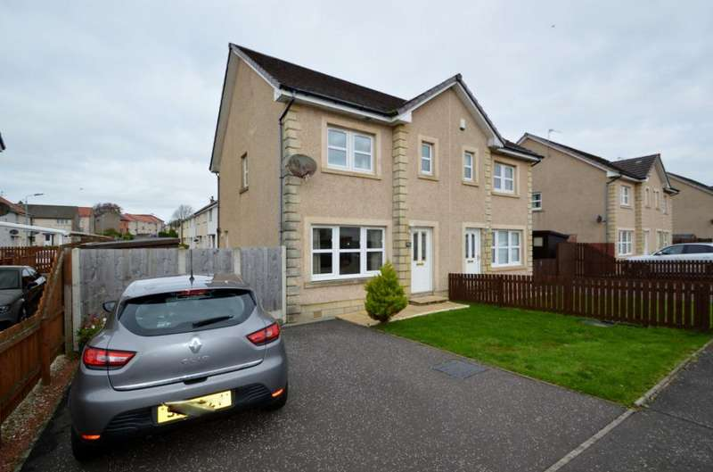 3 Bedrooms Semi Detached House for sale in Gilmour Wynd, Stevenston, North Ayrshire, KA20 4DA