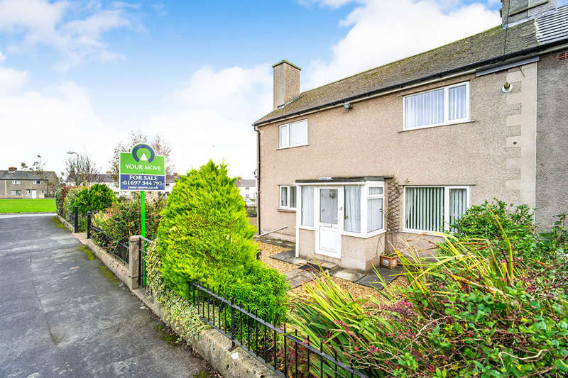 3 Bedrooms Semi Detached House for sale in East Crescent, Aspatria, Wigton, CA7