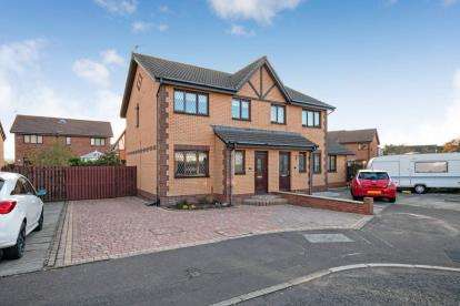 3 Bedrooms Semi Detached House for sale in Kenmore Place, Troon