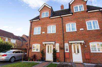 4 Bedrooms Semi Detached House for sale in Piccard Drive, Off Megellan Way, Spalding, Lincolnshire