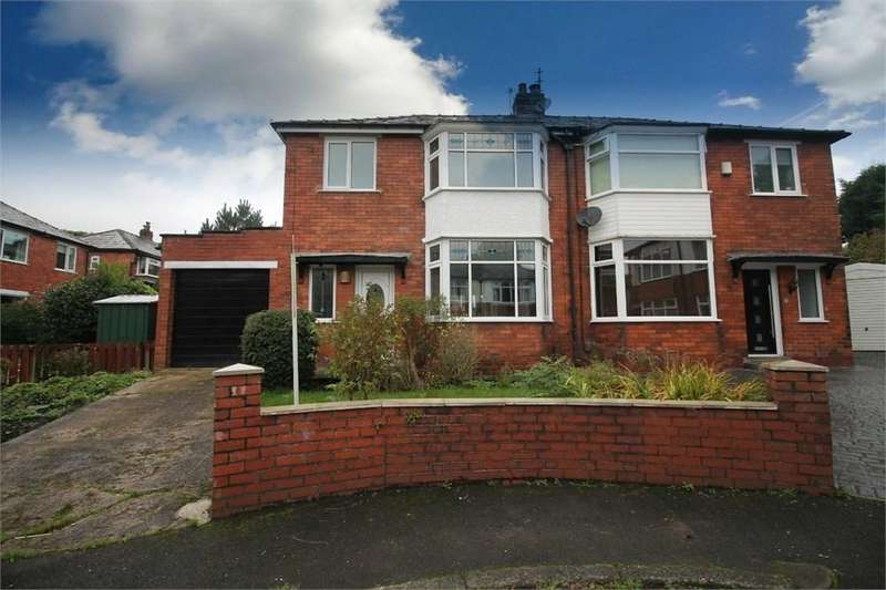 3 Bedrooms Semi Detached House for sale in Ringley Grove, Sharples, BOLTON, BL1