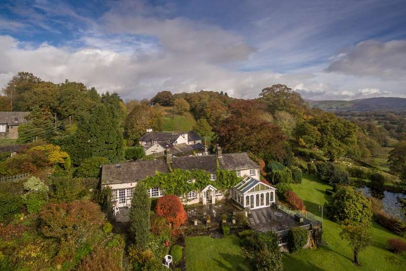 4 Bedrooms Cottage House for sale in Orchard Cottage, Outgate, Ambleside, Lake District, LA22 0NH