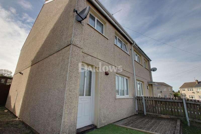 3 Bedrooms Semi Detached House for sale in Brynawelon, Nantyglo, Blaenau Gwent