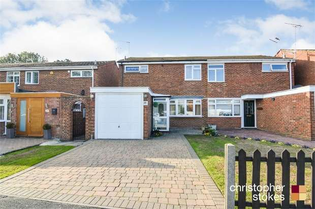 3 Bedrooms Semi Detached House for sale in The Springs, BROXBOURNE, Hertfordshire