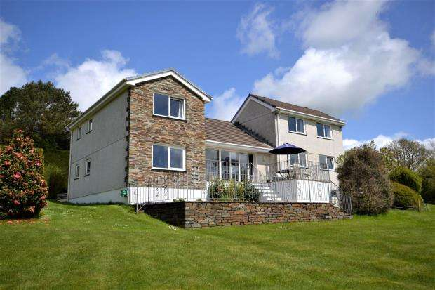 4 Bedrooms Detached House for sale in Albaston, Gunnislake, Cornwall