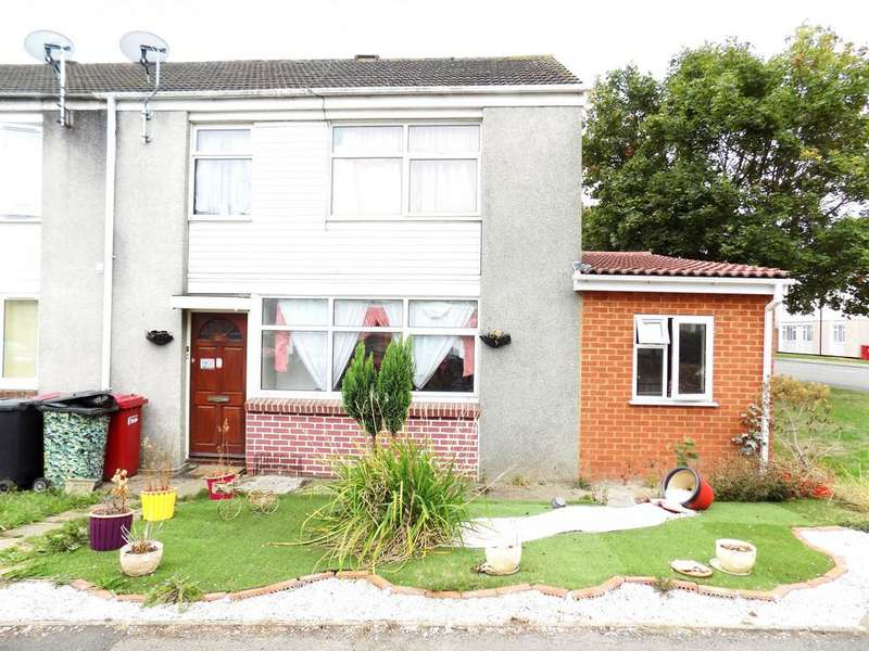 4 Bedrooms End Of Terrace House for sale in Borderside, Slough, SL2