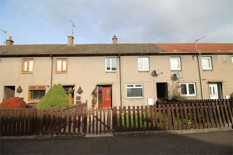 3 Bedrooms Terraced House for sale in Cluny Park, CARDENDEN, Fife