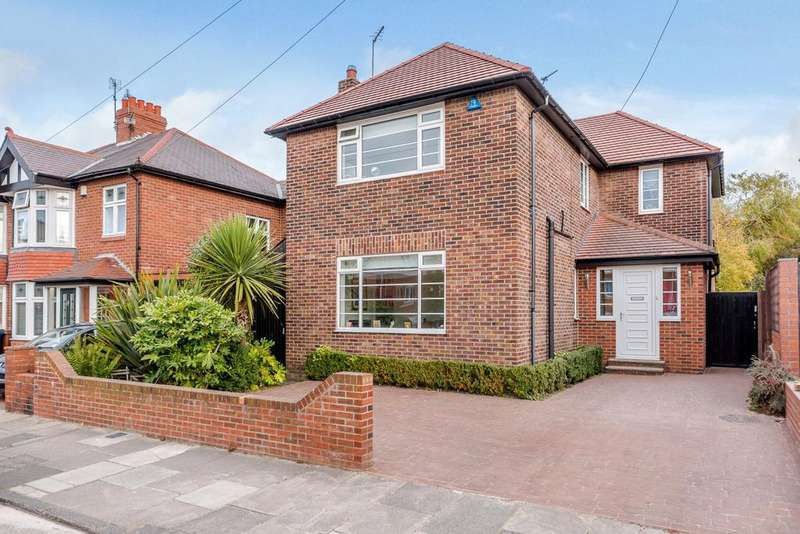 4 Bedrooms Detached House for sale in Moor Road North, Gosforth, Newcastle Upon Tyne, Tyne And Wear
