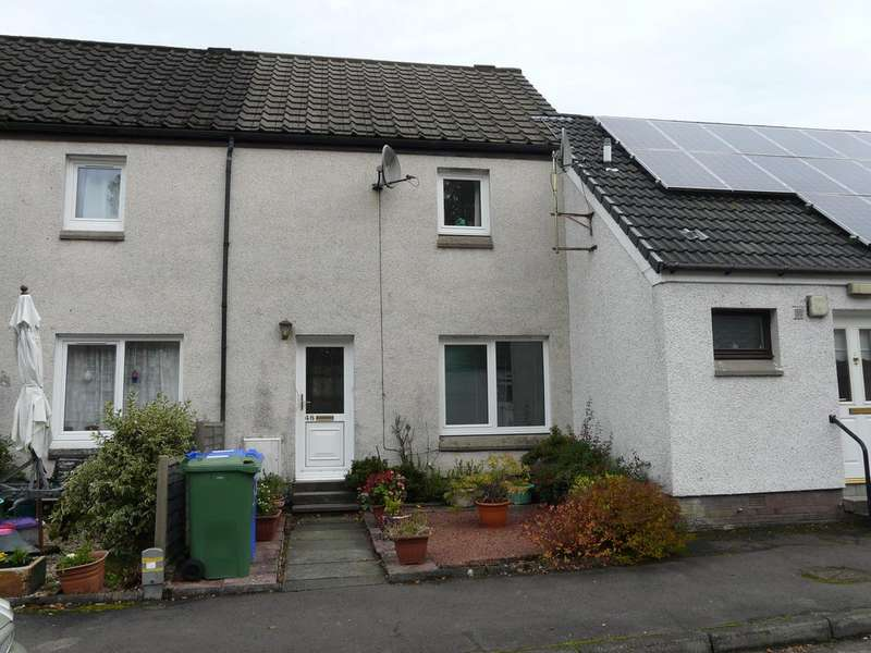 2 Bedrooms Terraced House for sale in Menteith Crescent , Callander FK17