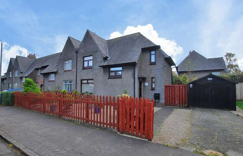 3 Bedrooms Semi Detached House for sale in 10 Morton Road, AYR, KA7 2NW