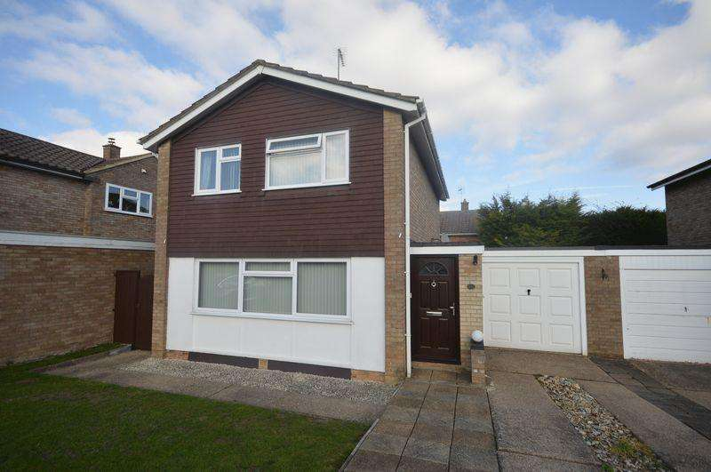 3 Bedrooms Detached House for sale in Holmfield Close, Luton