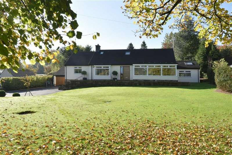 4 Bedrooms Bungalow for sale in Rookery Cottage, Calver Sough, Calver, Hope Valley, Derbyshire, S32