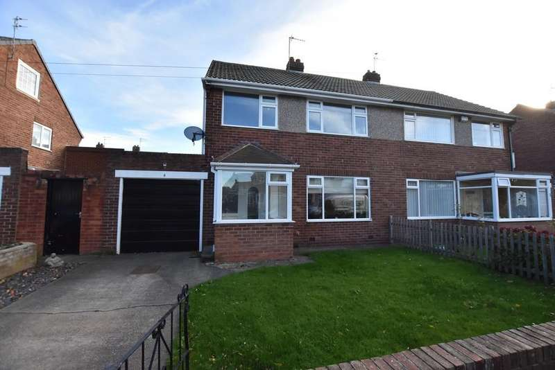 3 Bedrooms Semi Detached House for sale in Coltere Avenue, East Boldon
