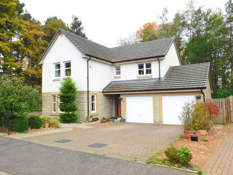 4 Bedrooms Detached House for sale in Claudius Crescent, Cambuslang, Glasgow