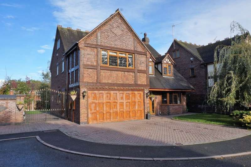 5 Bedrooms Detached House for sale in Shephard Close, Great Haywood, Stafford, ST18