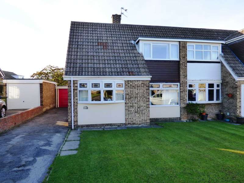 5 Bedrooms Semi Detached House for sale in Chapel Close, Marske By The Sea