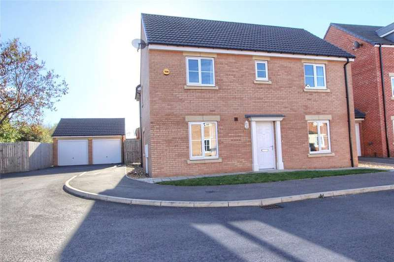 4 Bedrooms Detached House for sale in Baron Close, Acklam