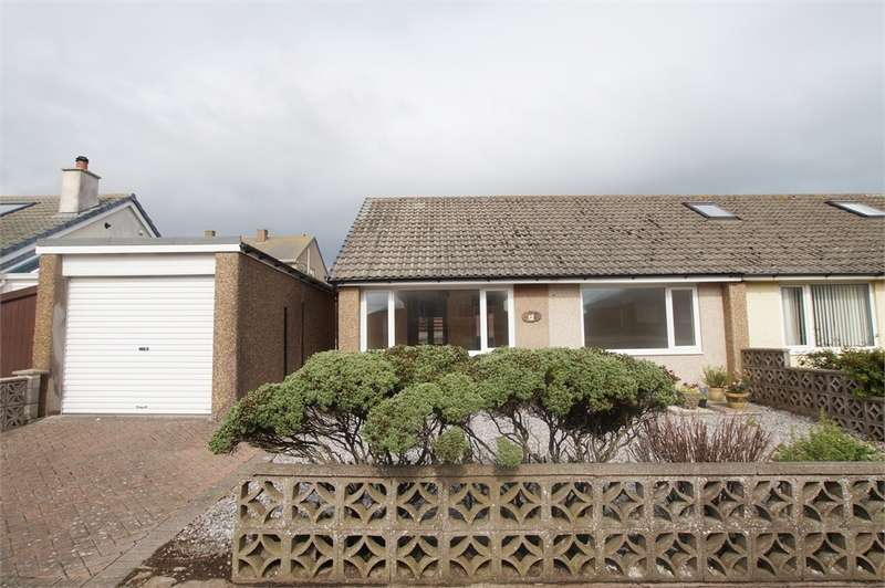 2 Bedrooms Semi Detached Bungalow for sale in CA27 0EY Firth Drive, St Bees, Cumbria