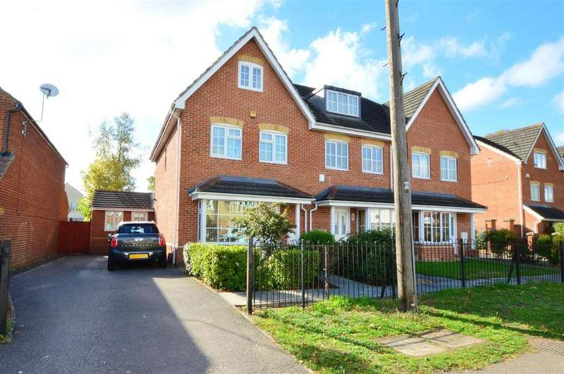 4 Bedrooms End Of Terrace House for sale in Crofthill Road, Slough, Slough
