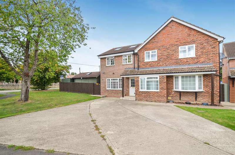 5 Bedrooms Detached House for sale in Rectory Close, Marsh Gibbon, Bicester