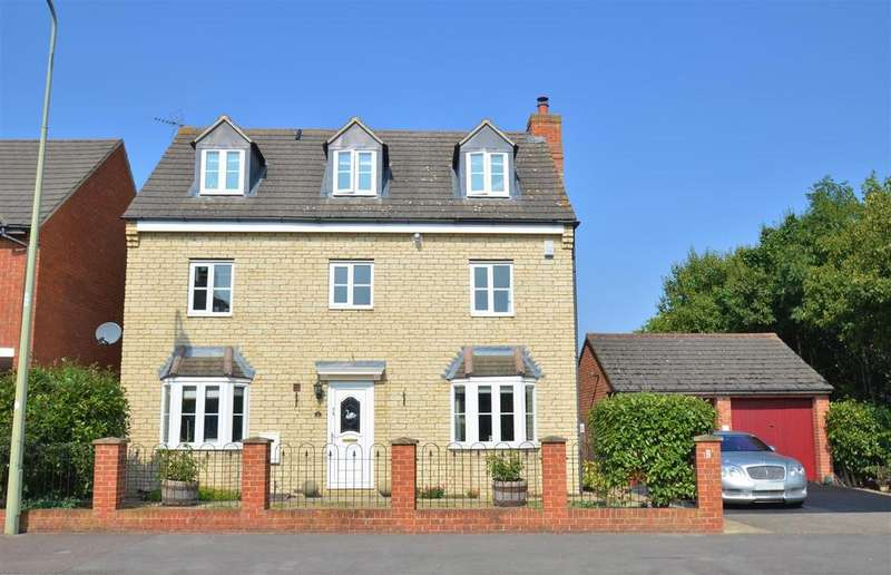5 Bedrooms Detached House for sale in Mallards Way, Bicester