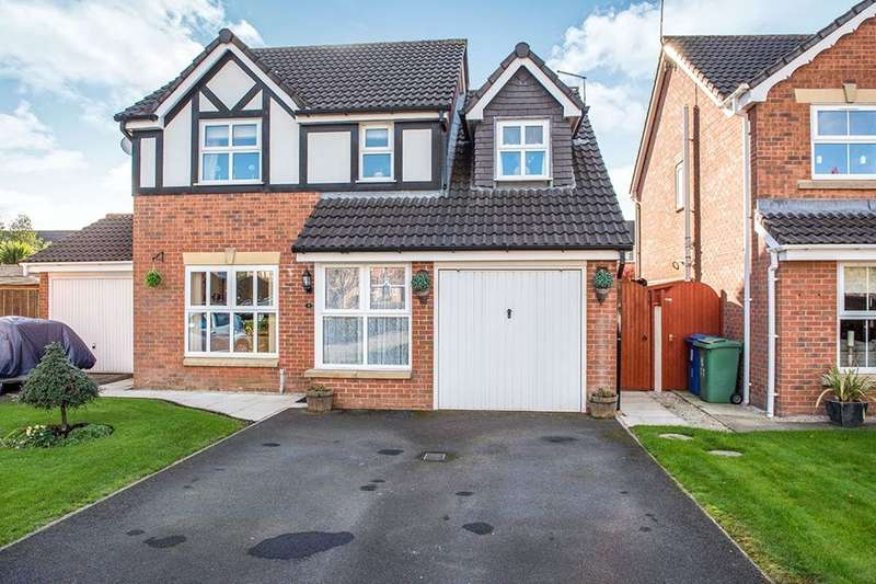 4 Bedrooms Detached House for sale in Middlecot Close, Orrell, Wigan, WN5